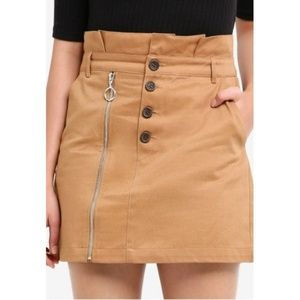 TOPSHOP Utility Skirt NEVER WORN